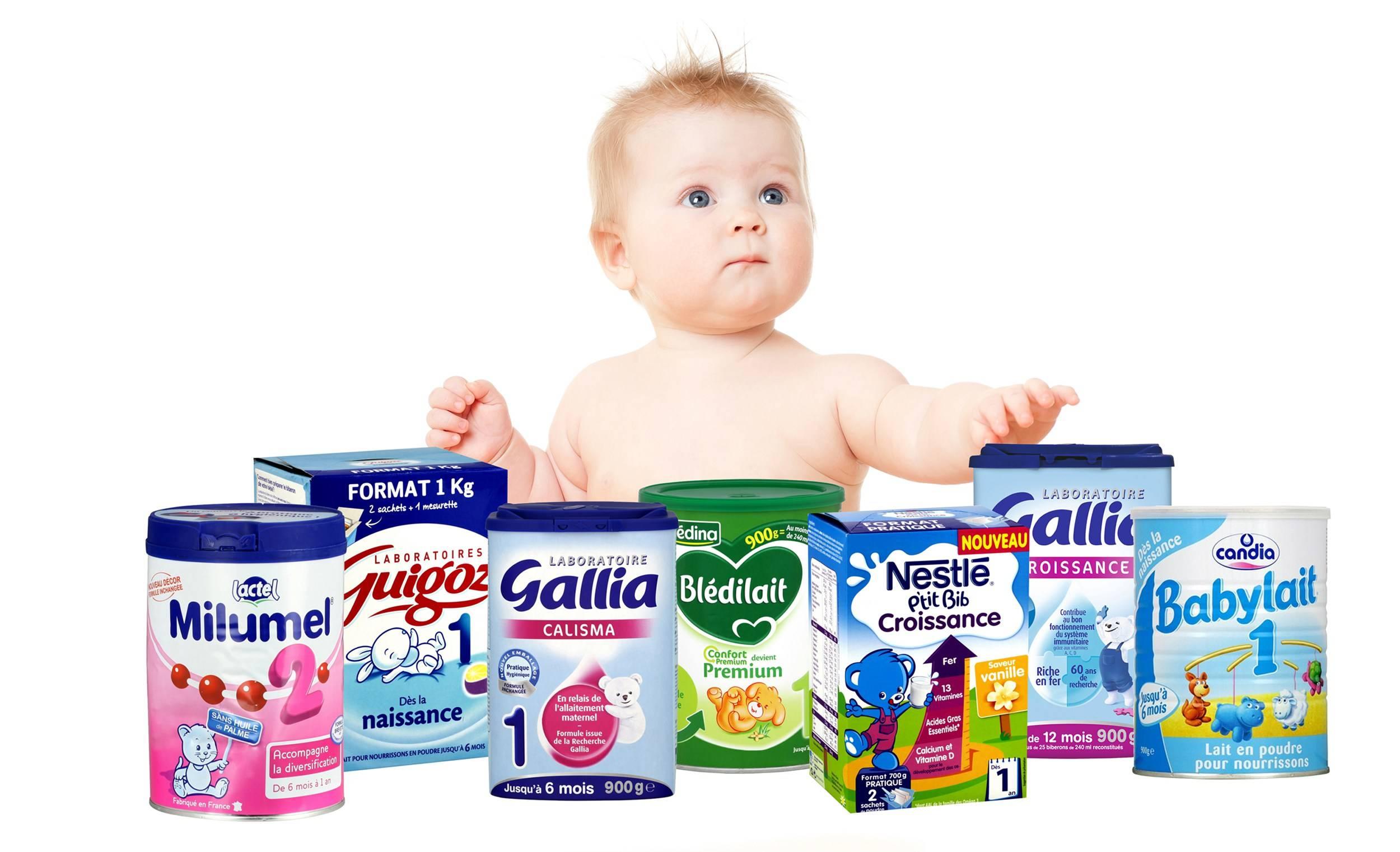 Quantité de lait pour bébé ? Combien ? Quand et jusqu'à quel âge ?