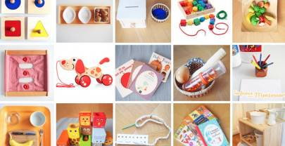 Matériel Montessori pour bébé et enfants pas cher