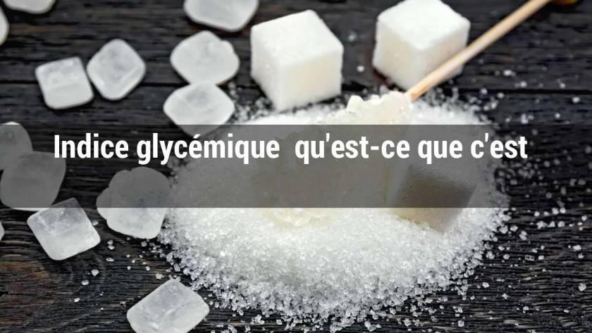 Indice glycémique: qu'est-ce que c'est ? Quelles sont les différences entre les sucres ?