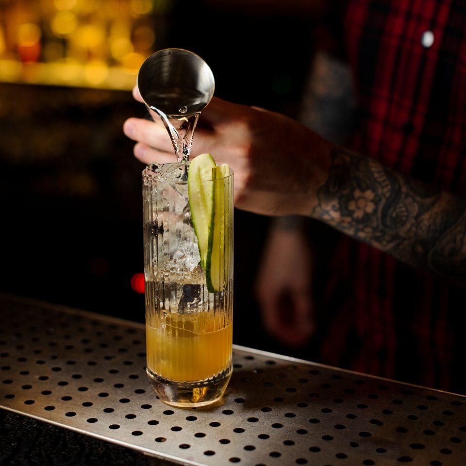 Comment faire un shot au concombre (cocktail) ?