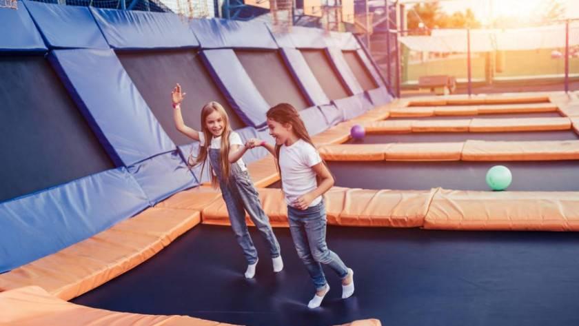Trampoline park : pourquoi changer de chaussettes ?