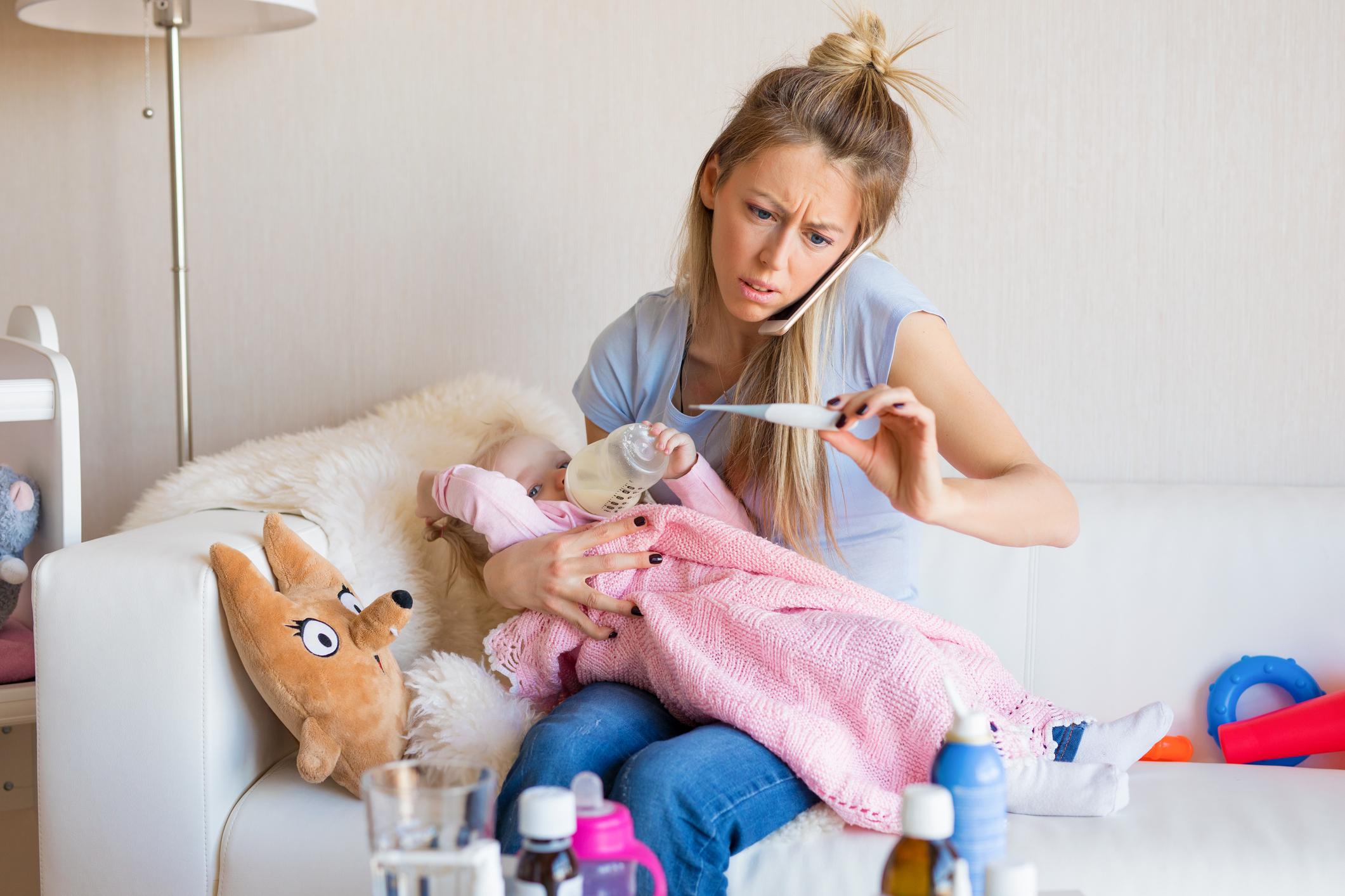 Comment éviter que bébé tombe malade à la crèche ?